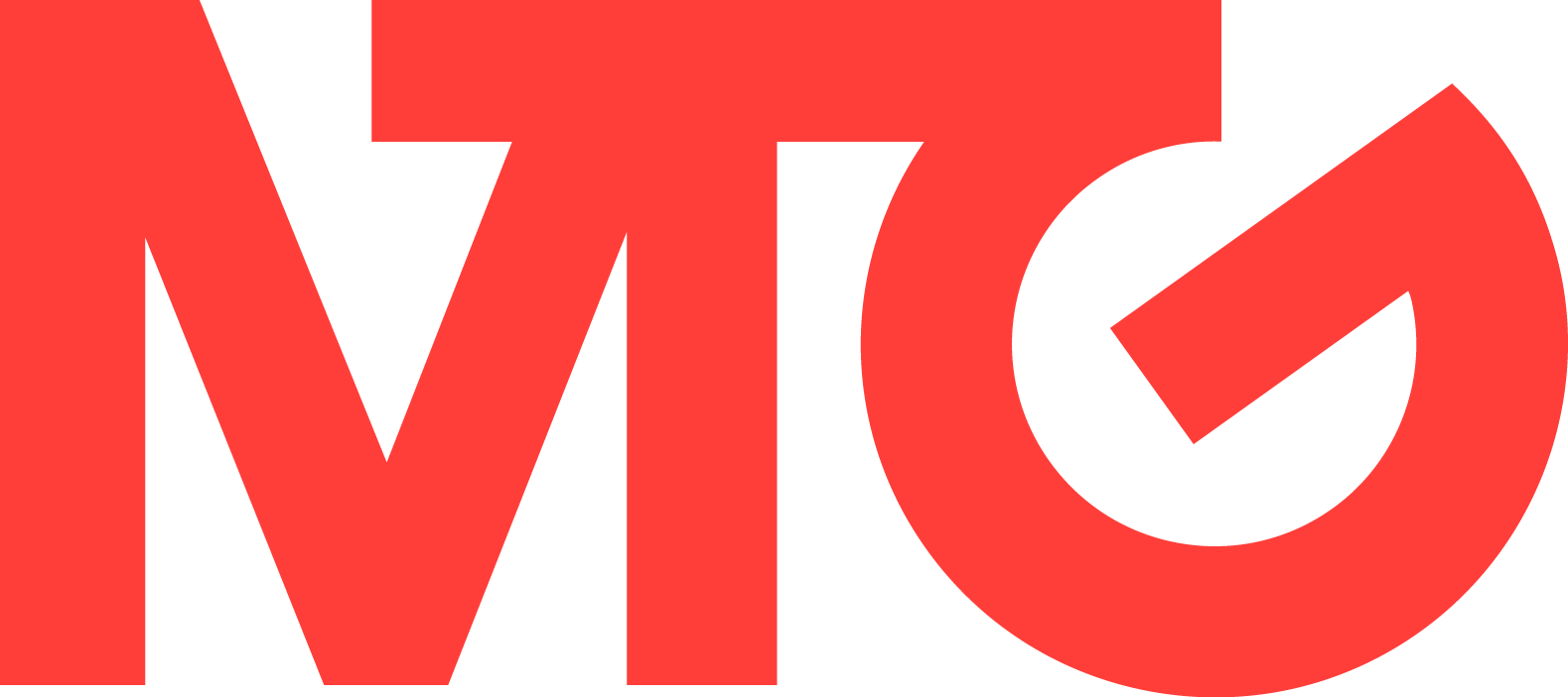 MTG Logo Medium Red PNG