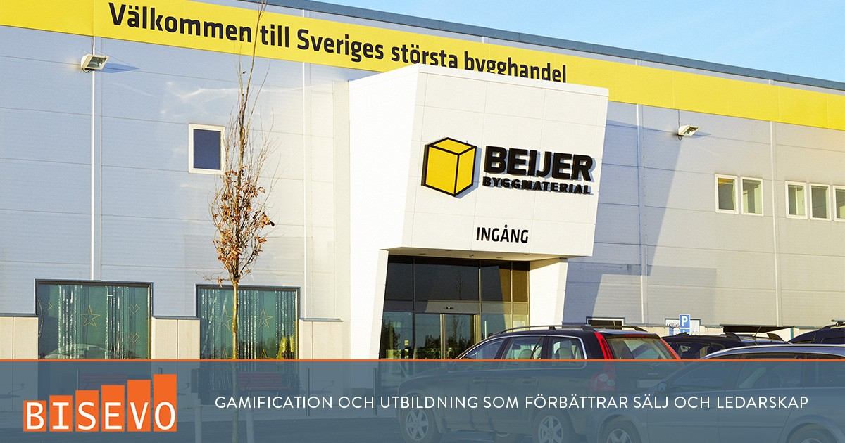 Gamification för Beijer Byggmaterial
